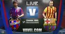 Live Liga BBVA : le match Levante vs FC Barcelone en direct