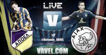 Champions League en vivo: APOEL vs Ajax en directo online