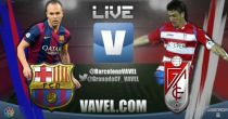 Live Liga BBVA : le match FC Barcelone vs Grenade en direct