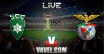 Taça de Portugal: Covilhavs Benfica en vivo y en directo online