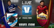 Resultado partido Sampdoria vs Roma en vivo y en directo online