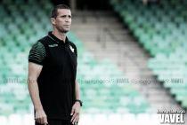 Primer entrenamiento del Real Betis a las órdenes de Juan Merino