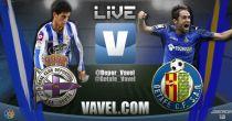 Resultado partido Deportivo de la Coruña vs Getafe en vivo y en directo online