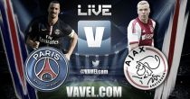 PSG vs Ajax en vivo online