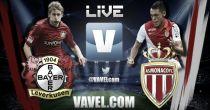 Bayer Leverkusen vs Mónaco en vivo online