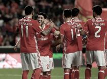 Benfica a uma cartada das meias na Taça CTT: águias esmagam Vizela e Jonas já marca (4-0)