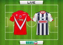 Resultado Veracruz vs Monterrey en vivo (0-1)