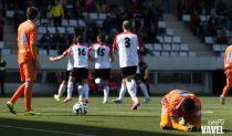 El Valencia Mestalla paga su falta de acierto en La Feixa Llarga
