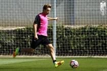Samper ya entrena con el Granada CF