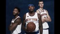 Carmelo Anthony se muestra ilusionado con la plantilla de sus New York Knicks