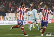 Pleno del Atlético ante el Granada desde 2012