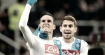 Serie A - Il Napoli sbanca San Siro. Insigne e Callejon a segno, non basta Kucka. 1-2 il risultato finale