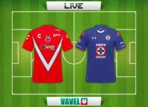 Resultado del partido Veracruz vs Cruz Azul en vivo online