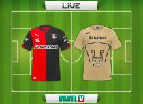Resultado Atlas vs Pumas en vivo y directo online (1-1)