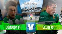 Resultado Córdoba vs Elche en Liga BBVA 2015 (0-2)