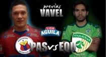 Deportivo Pasto vs Equidad: Los 'volcánicos' quieren extender la alegría
