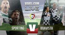 Resultado Sporting vs Boavista en la Liga Portuguesa 2015 (2-1)