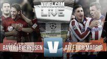 Diretta Bayer Leverkusen - Atletico Madrid, risultato live di Champions League (1-0)