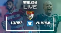 Resultado e gols Linense 0x4 Palmeiras no Campeonato Paulista 2017