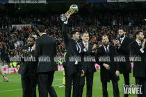 La Copa visitó el Palacio y el Bernabéu