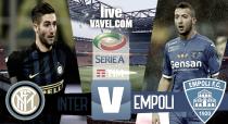 Risultato Inter - Empoli diretta, LIVE Serie A 2016/17 - Eder, Candreva!(2-0)