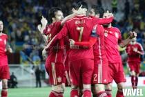 Nolito, Morata, Lucas, Bellerín y Rico se consagran en la 'nueva Roja'