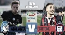 Atalanta - Crotone in diretta, Serie A 2016/17 LIVE: finisce qui! Atalanta batte Crotone grazie a Conti! (1-0)