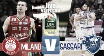 EA7 Milano - Banco di Sardegna Sassari, Final Eight 2017 Coppa Italia basket (84-74)