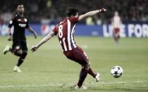 """Saúl: """"El gol de hoy ha sido muy emotivo después de lo que sufrí aquí hace dos años"""""""