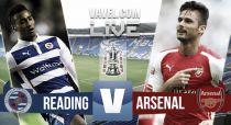 Reading vs Arsenal en vivo y en directo online en la FA Cup (0-0)