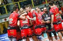 Volley M - La Sir Safety Perugia reagisce prontamente e impatta la serie di semifinale scudetto