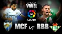 Málaga CF - Real Betis: un duelo para cambiar