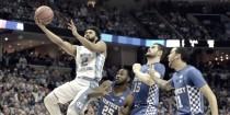 NCAA - North Carolina conquista il pass all'ultimo secondo: eliminata Kentucky con un buzzer di Maye (73-75)