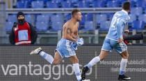 """La Lazio la spunta al 90'. Tutta la gioia di Immobile: """"tre punti importantissimi"""""""