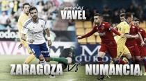 Previa Real Zaragoza - Numancia: la última oportunidad pasa por el derbi del Moncayo