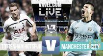 Resultado Tottenham Hotspur vs Manchester City (0-1)