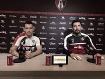 Daniel Arreola y Miguel Fraga ven al equipo en plena regularidad