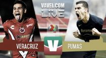 Resultado Veracruz vs Pumas en Clausura 2015 (3-3)