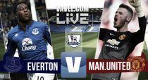 Everton vs Manchester United: resultado en vivo y en directo online en la Premier League 2015