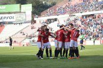 El Nàstic cumple ante Huracán y es el primer equipo en cantar el alirón