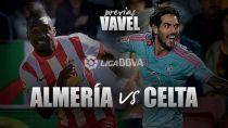 UD Almería - Celta de Vigo: manteniendo el pulso