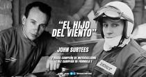 John Surtees, el piloto de la chaqueta grande, el 'hijo del viento'