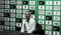 """Reinaldo Rueda: """"Asumimos muy bien la responsabilidad de lo que pasó el martes"""""""