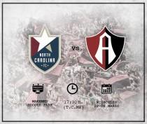 Previa North Carolina FC - Atlas: Confianza en Fecha FIFA