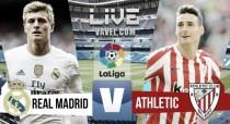 Veja como foi: Athletic Bilbao x Real Madrid, pelo Campeonato Espanhol (1-2)