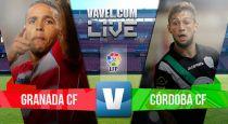 Resultado Granada vs Córdoba en la Liga BBVA 2015 (2-0)