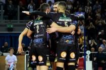 Volley M - Il primo round delle semifinali scudetto sorride a Lube Civitanova Marche e Diatec Trentino