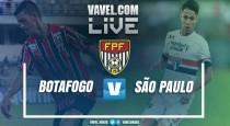 Resultado final: Botafogo-SP 1x1 São Paulo F.C.