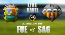 Fuenlabrada vs Atlético Saguntino en directo online en Final Copa RFEF 2017