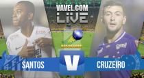 Resultado Jogo Santos x Cruzeiro pelo Campeonato Brasileiro 2015 (1-0)